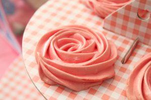 meringue en rose