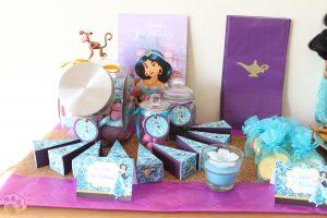 décoration anniversaire Jasmine