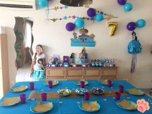 fête d'anniversaire Jasmine