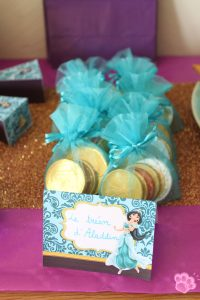cadeau invités anniversaire Jasmine
