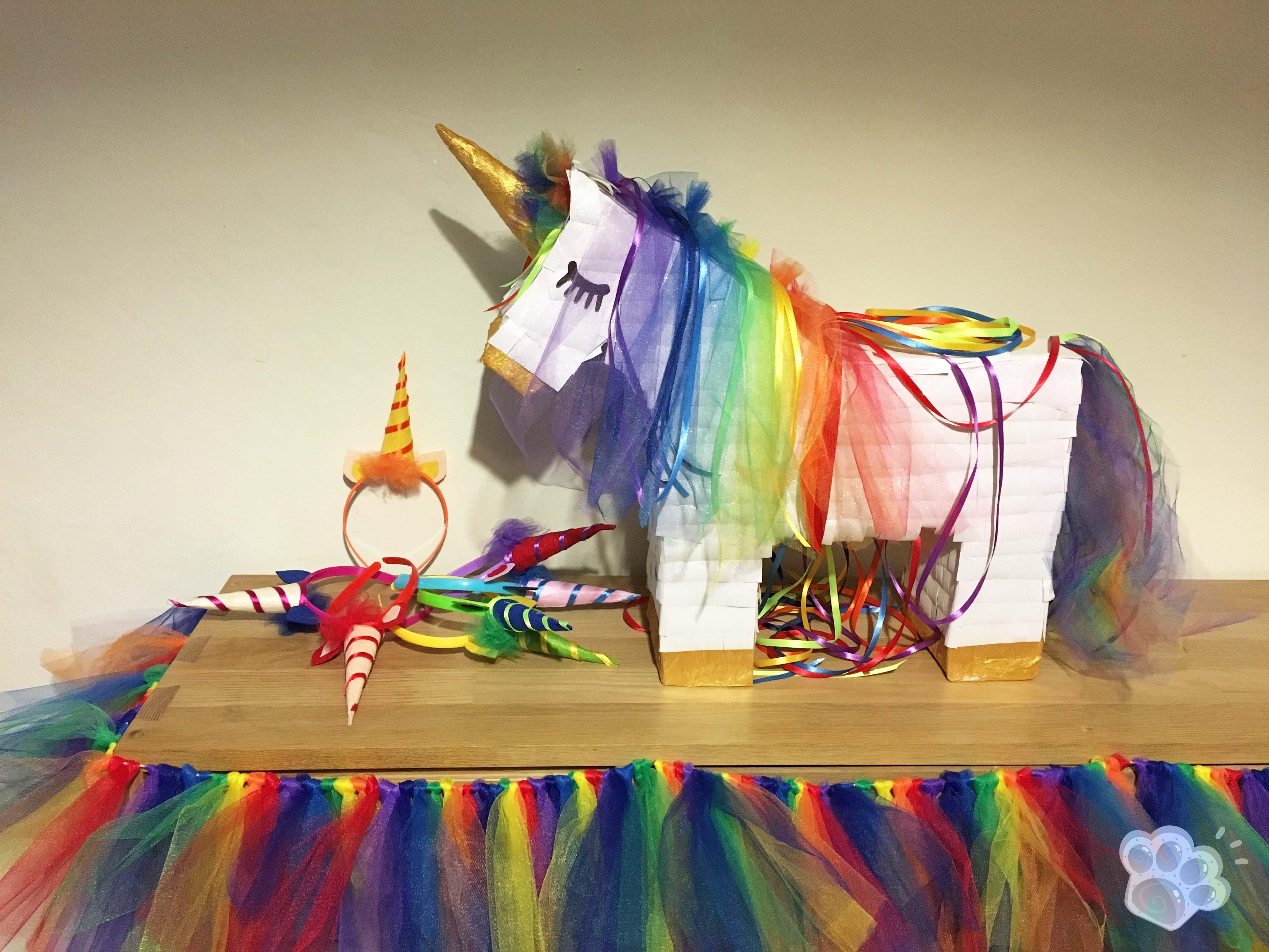 Coloriage Licorne Cultura.Un Anniversaire Licorne Arc En Ciel Bricolages Et Diy