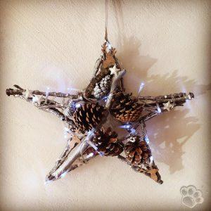 Fabriquer une étoile de Noël en bois