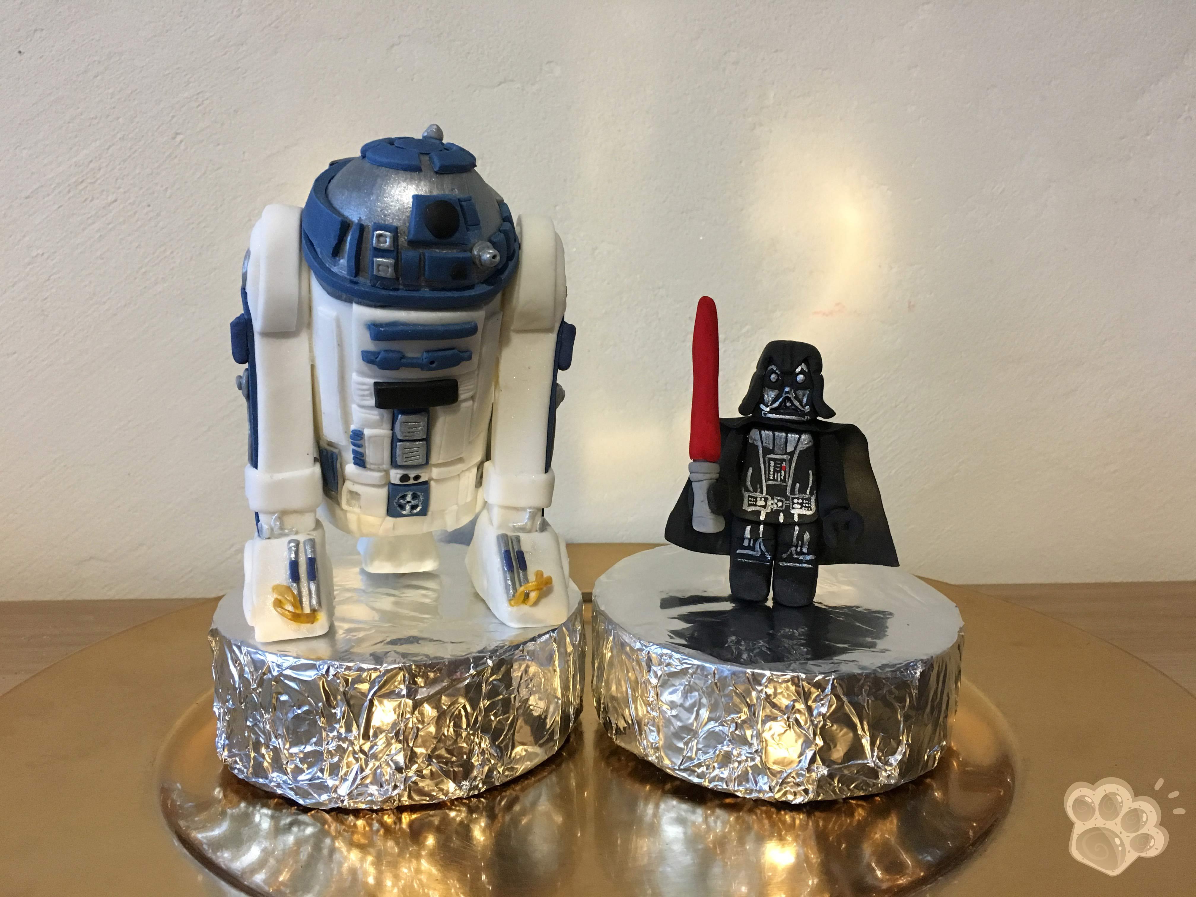 Tutoriel Modelages Star Wars En Pâte à Sucre La Pâte Damanda