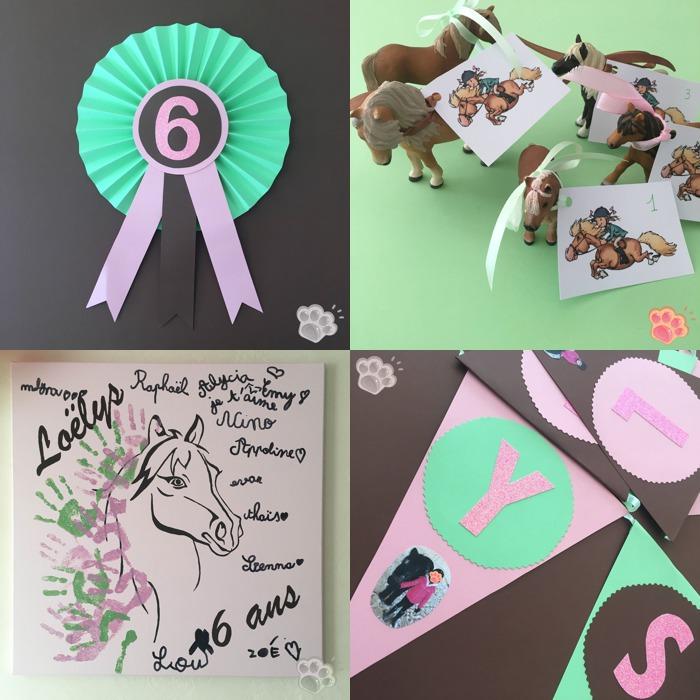 anniversaire poney