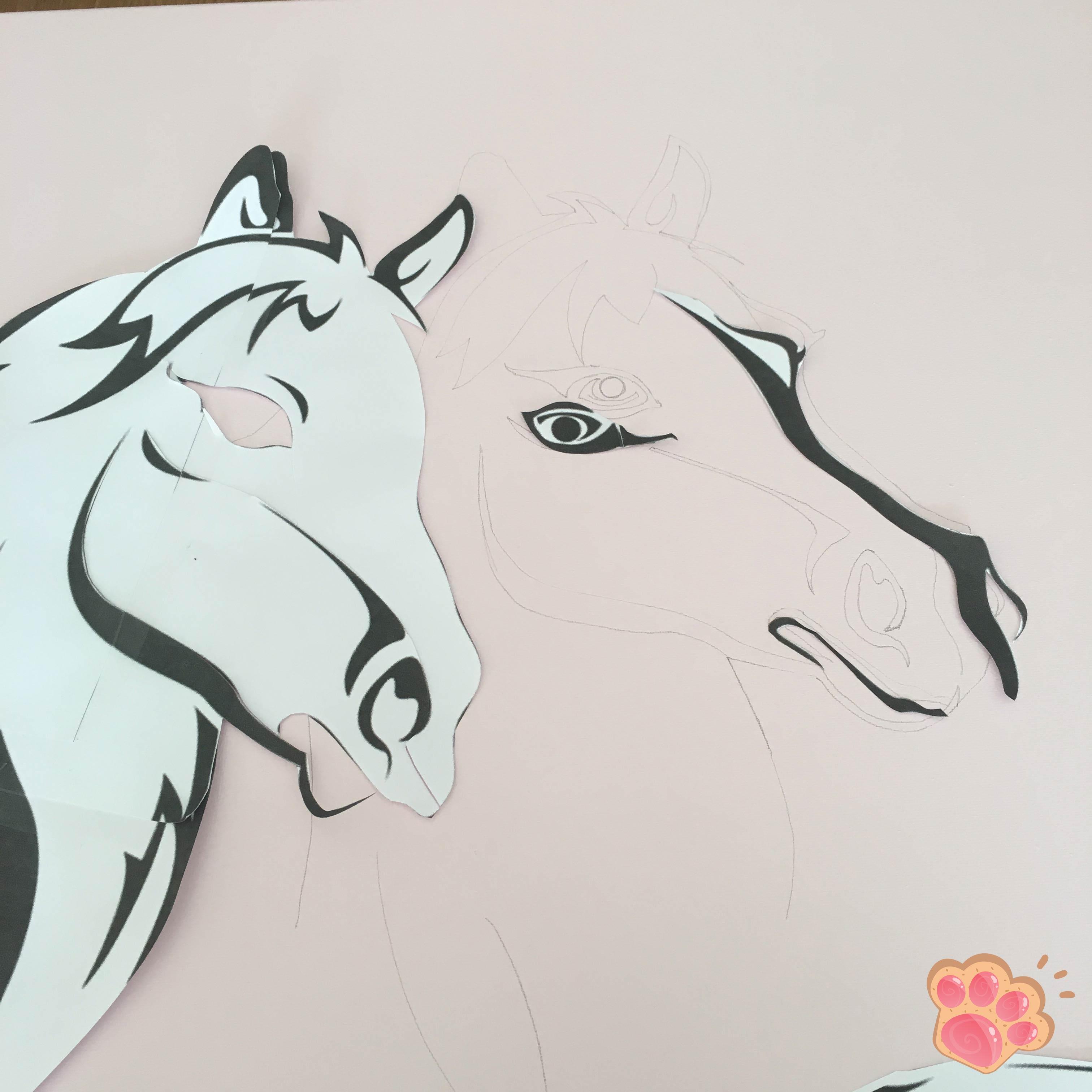 tuto tableau poney